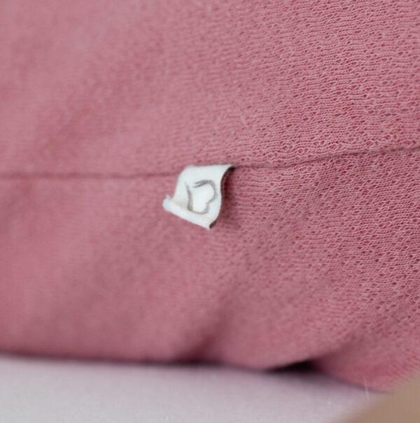 oud roze hartje detail