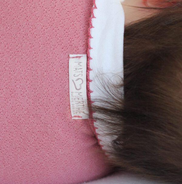 Romper oud roze kraag
