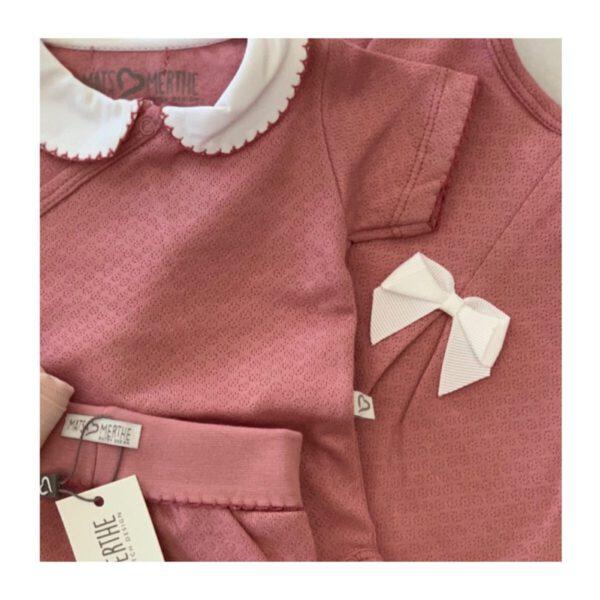 Meisje babypakje roze